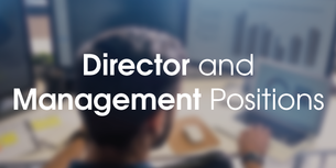 Apply for Director and Management positions